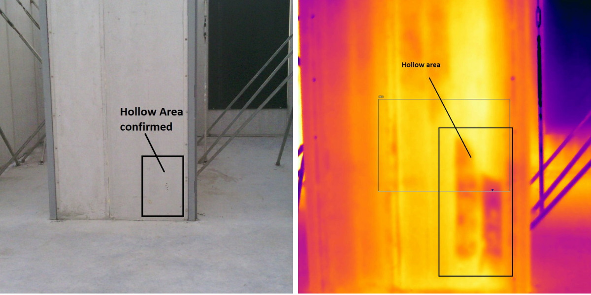 Hollow Area Thermal Imaging