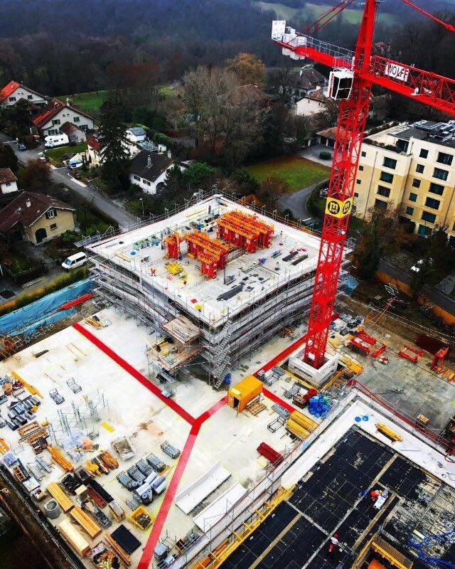 Boss Mat Safety Walkways - Crane view
