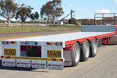 Hume Hire ow loader freight trailer hire lavington