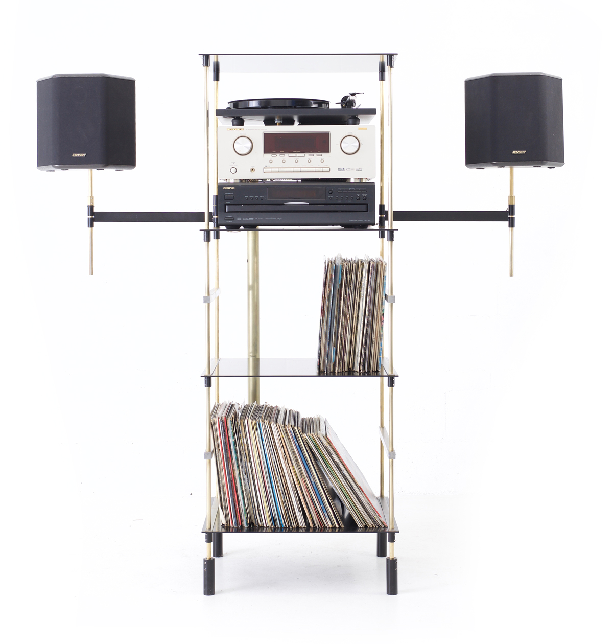 Boss System vinyl record display