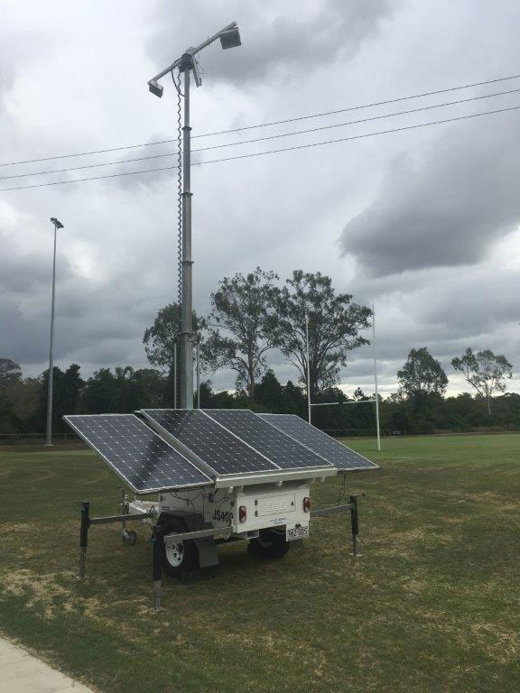 Site Light Rentals Hybrid Solar Light Trailer Hire