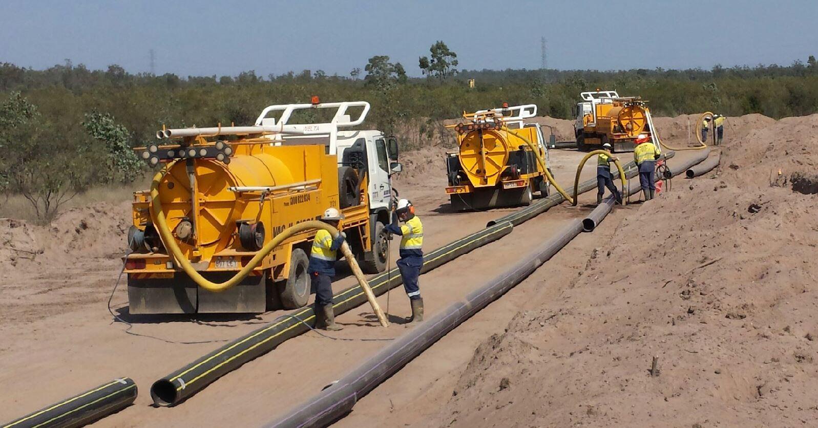 vacuum excavation process
