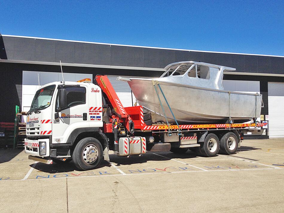 goldcoastcranehire-jester-truck-transport-hire Currumbin