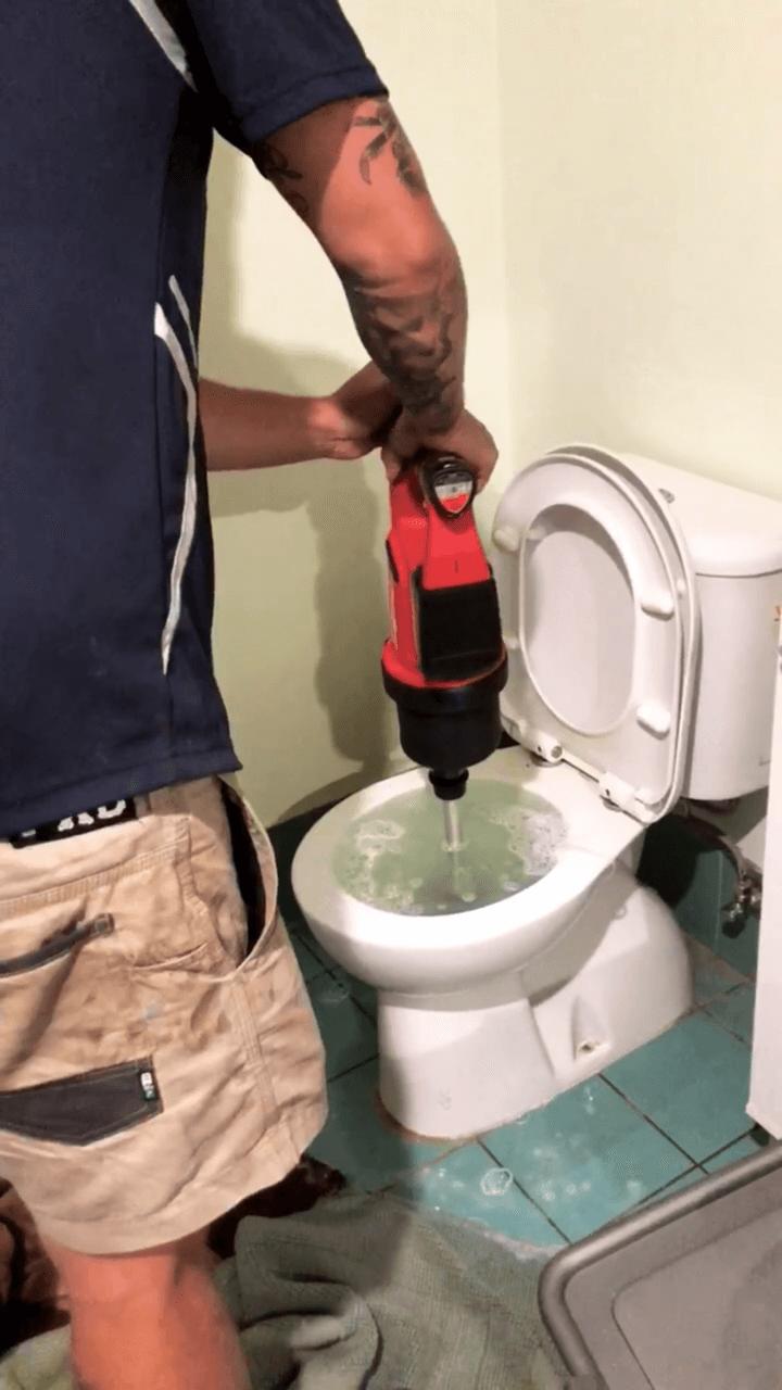 WJS blocked toilet