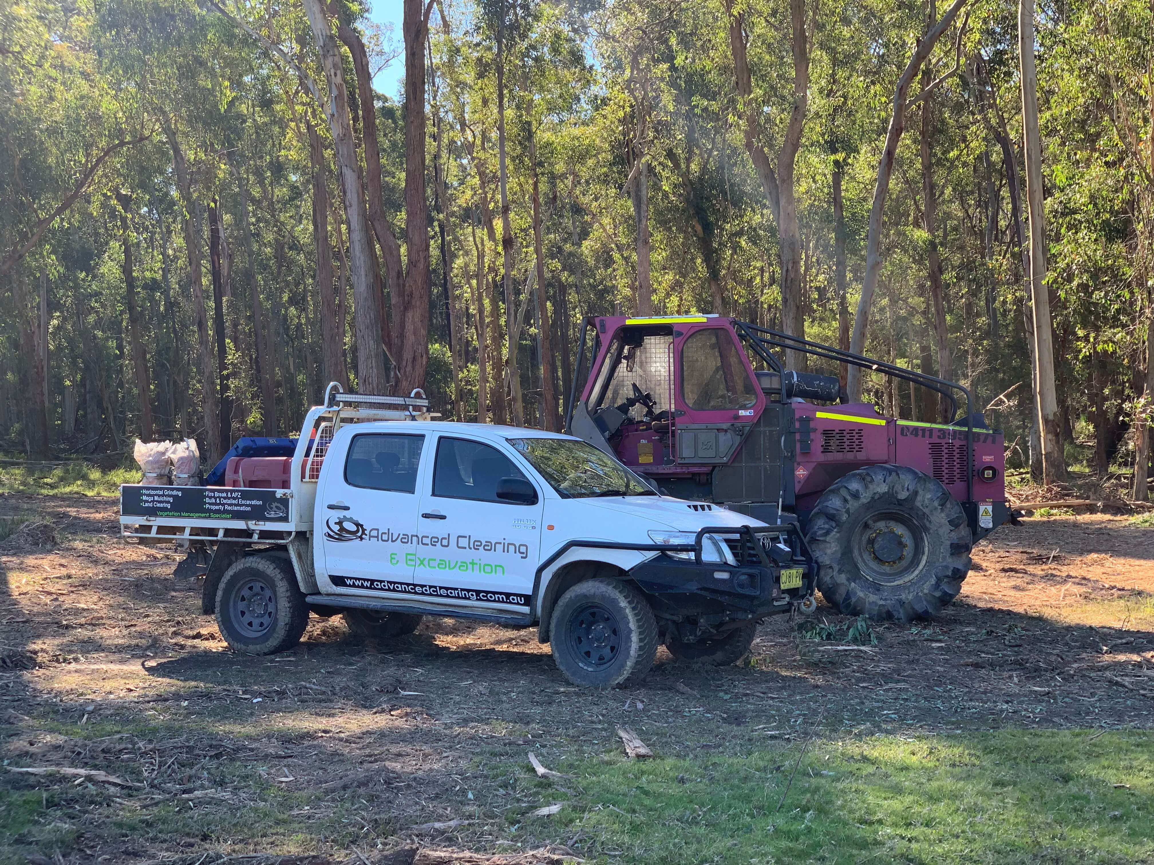 Advanced-Clearing-Excavation-bobcat-ute-Sydney