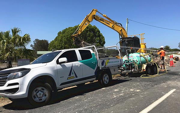 Alder Construction Puts Our 1,500L Water Trailer to Good Use