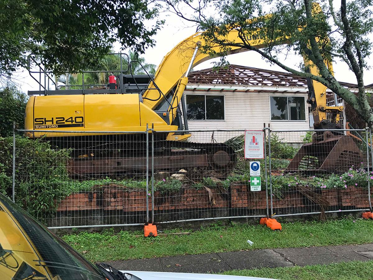 McManaway Earthmoving demolitions 3