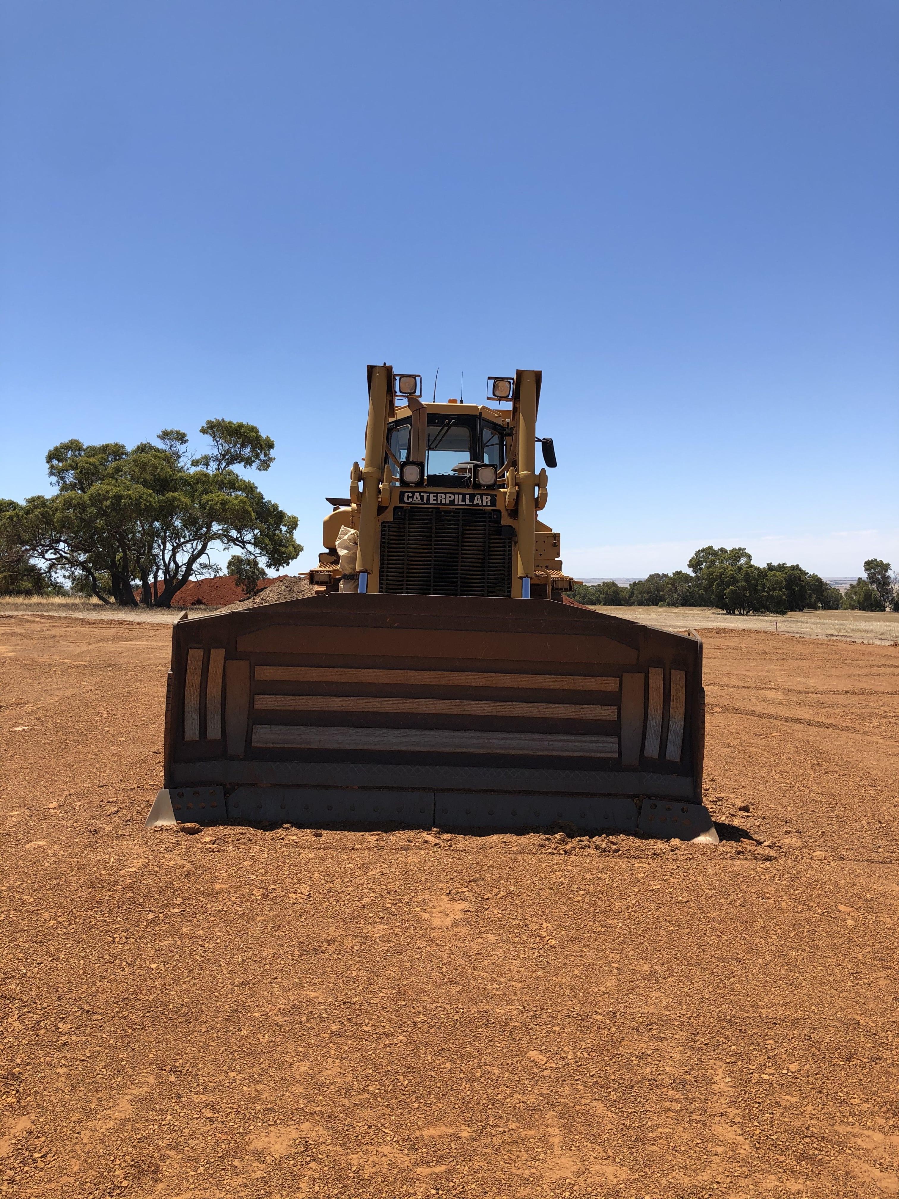 vernice-D7-dozer-hire-perth-western-australia