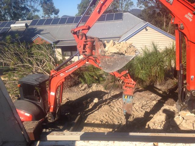 3 ton and 6 ton excavators