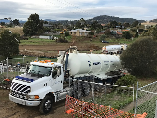 Spectran Group Liquid Waste Tanker Hire Hobart