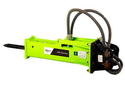 Impact-Construction-Equipment-hydraulic-breaker-attachment-sales-melbourne-100-Series
