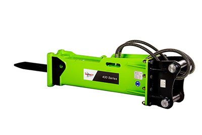 Impact-Construction-Equipment-hydraulic-breaker-attachment-sales-melbourne-430-Series
