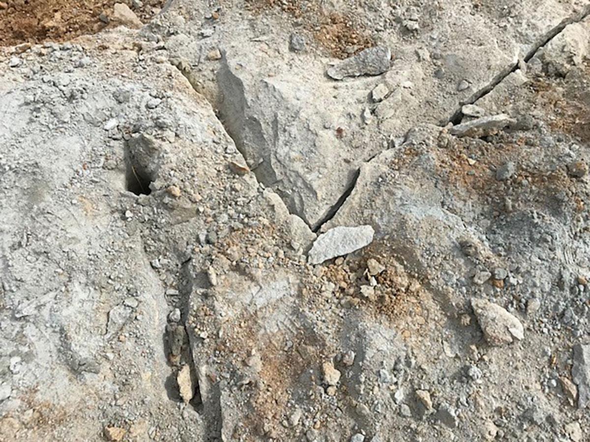Industry West non-explosive rock breaking