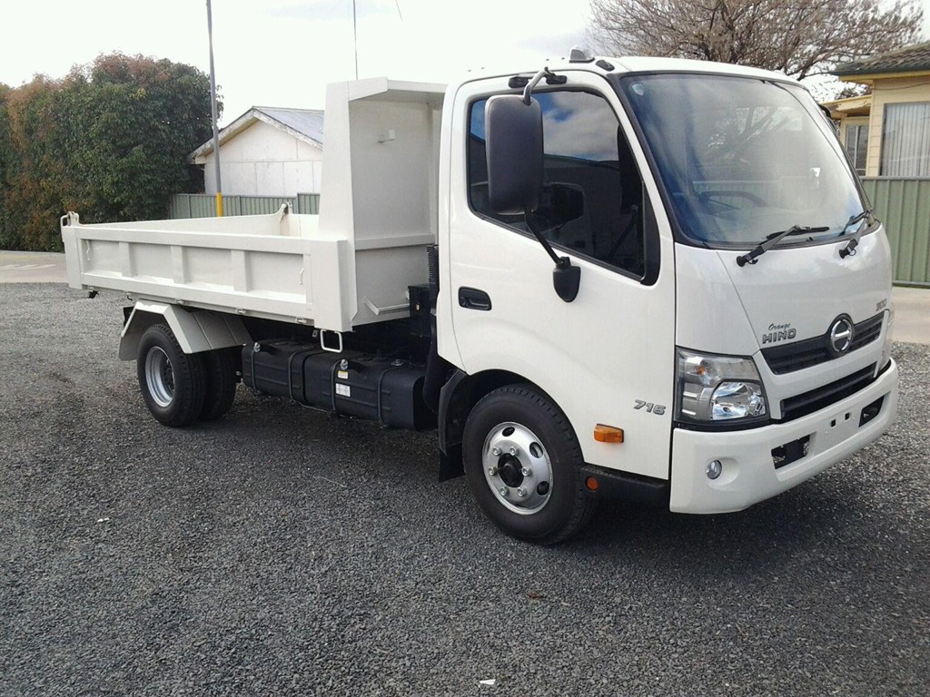 Isuzu Tipper Hire