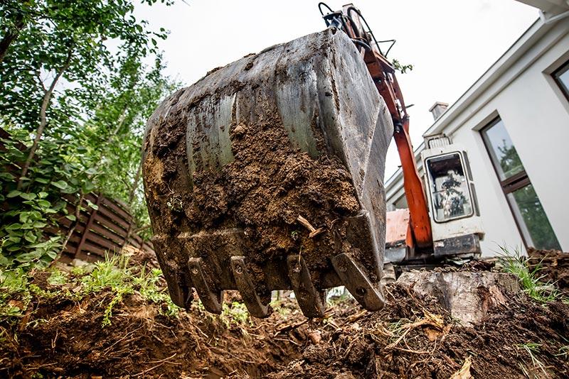 Excavator attachment