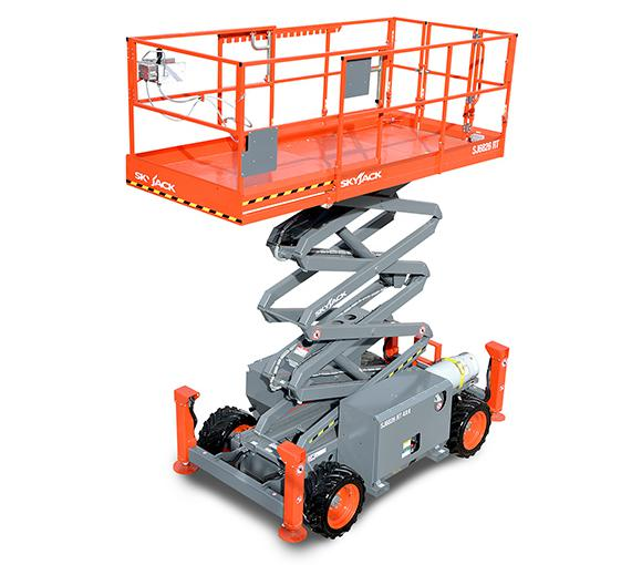 JC-Hire-10M-ELECTRIC-ROUGH-TERRAIN-SCISSORS-Sunshine-Coast