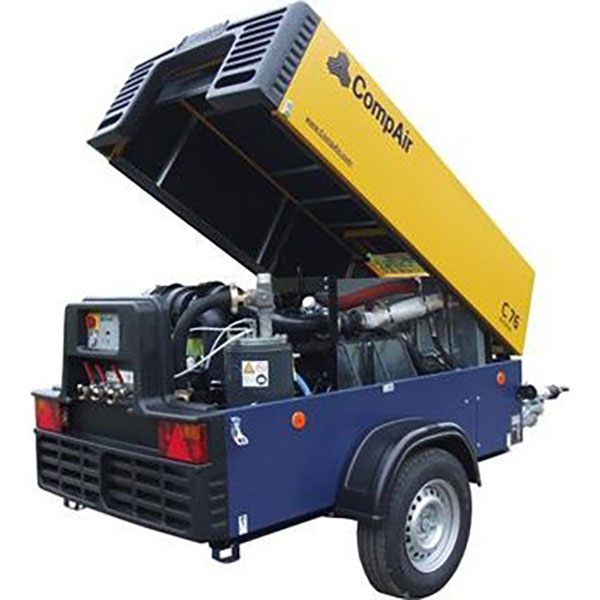 JC Hire Comp Air Air Compressor Sunshine Coast