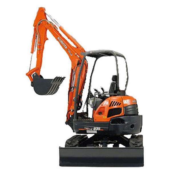 JC-Hire-excavator-3-5t-kubota-u35-3s2-Sunshine-Coast