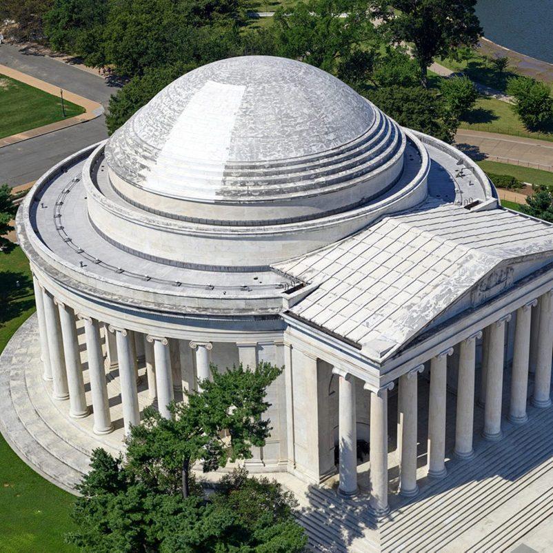 Jefferson Memorial comparison