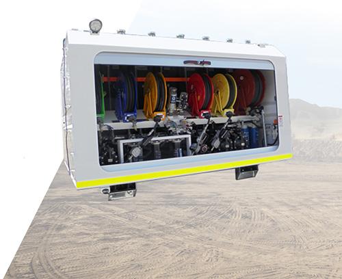 STG Global Lube Module SM2800 for 4x2 and 4x4 Trucks