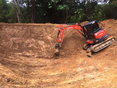 Leader-Earthworks-Murwillumbah-excavator