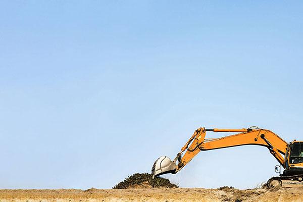 Leech-Earthmoving-Excavator-hire-large-site-development-castlemaine