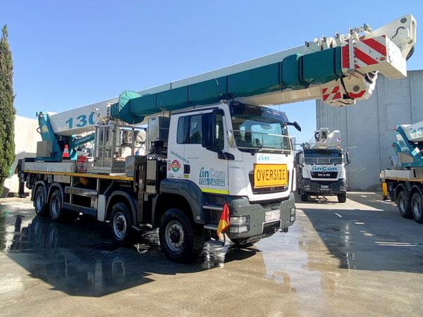 P650i Insulated Access Platform Crane