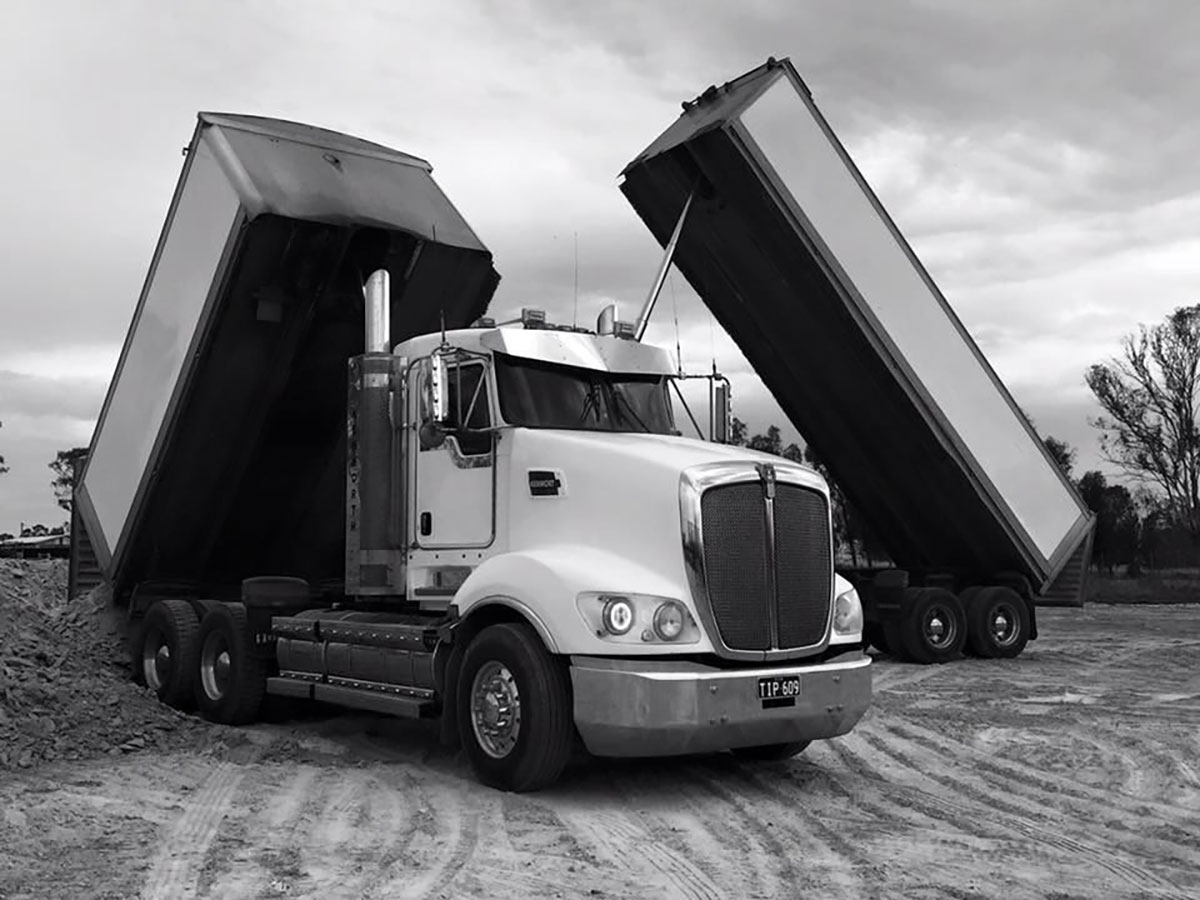 Load and go tipper