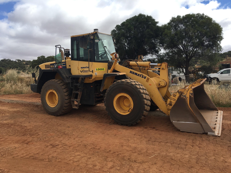 20t loader hire vernice western australia