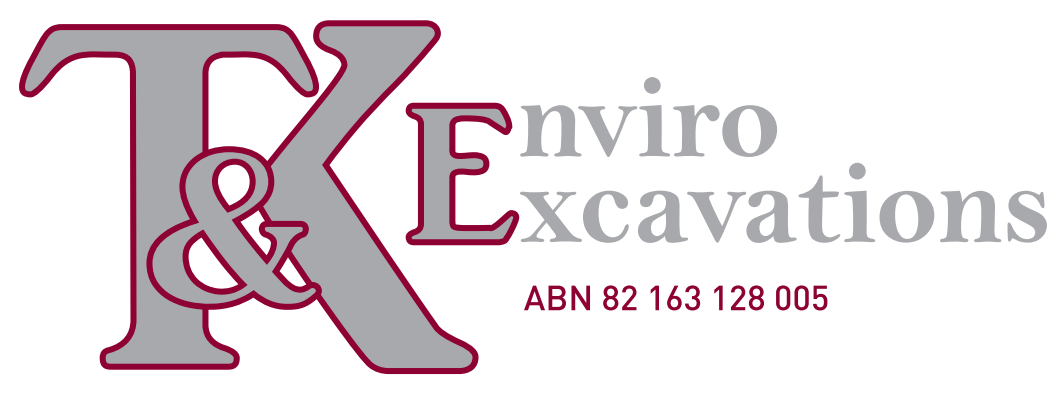 T and K Enviro Excavations Logo