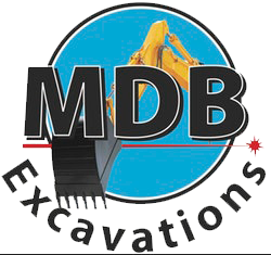 MDB Excavations Logo