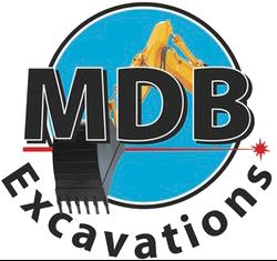 MDB Excavations Logo