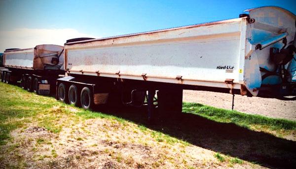 Side Tipper trailer