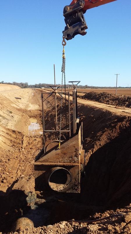 Macquarie Civil Removal of 2-Way Structure . Spaghetti Junction - Marebone Warren NSW