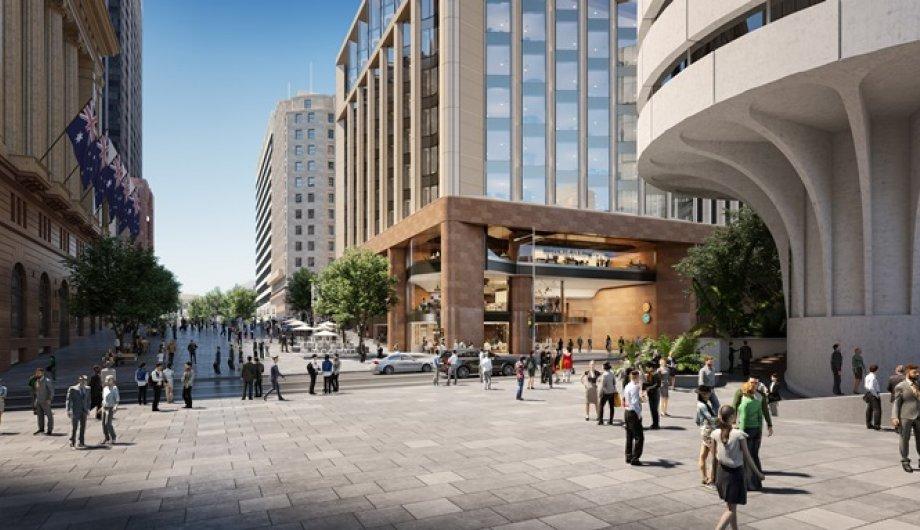 Multi-million dollar construction project progresses - Martin Place Station