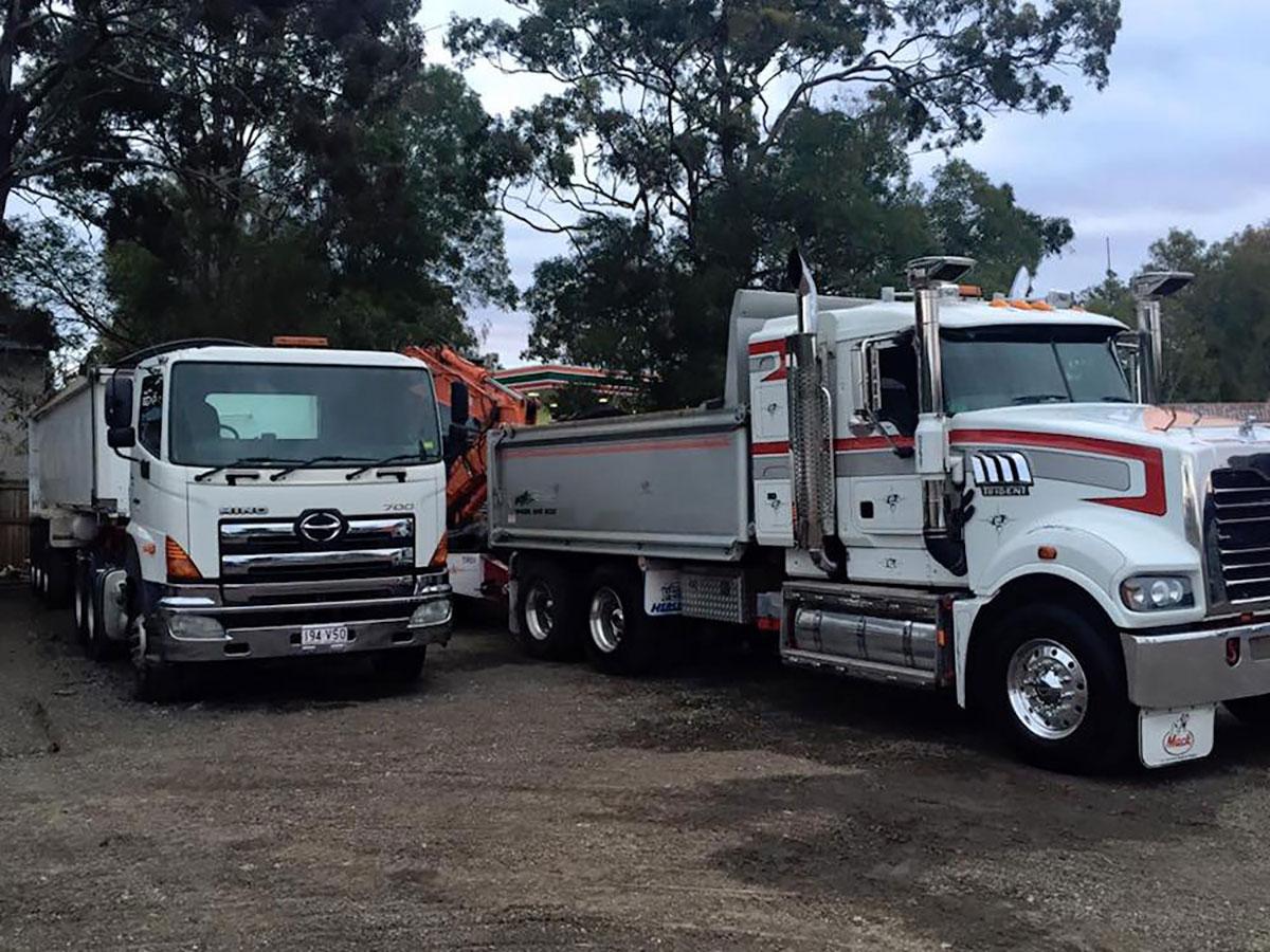 Mcmanaway_Earthmoving trucks