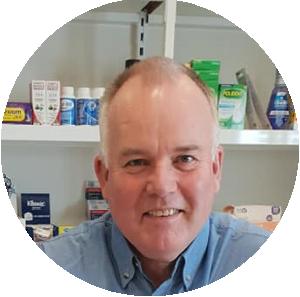 Terry Travers Mersey Advantage Pharmacy Owner Pharmacist Chemist