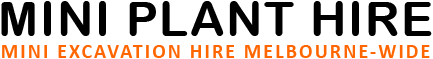 Mini Plant hire logo