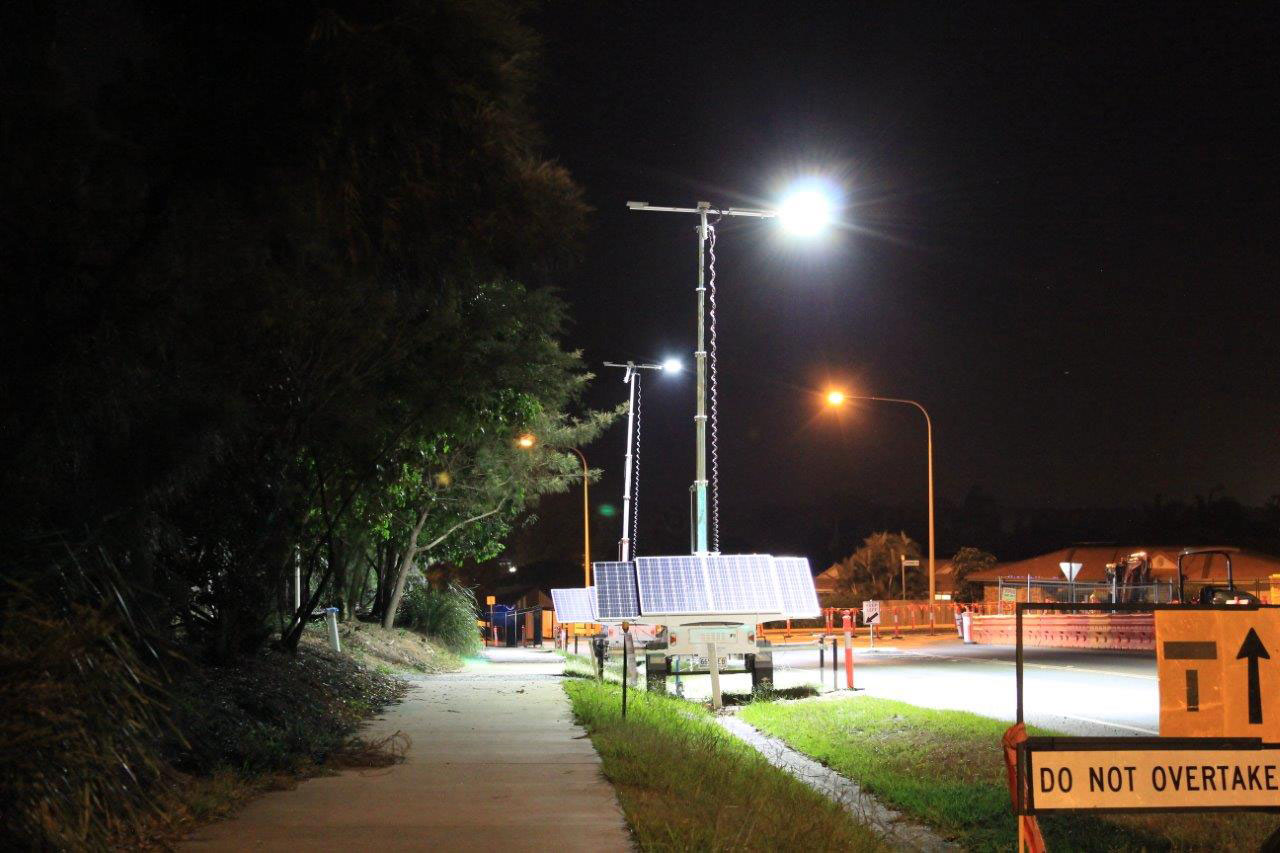 Solar Light Trailer Hire Toowoomba