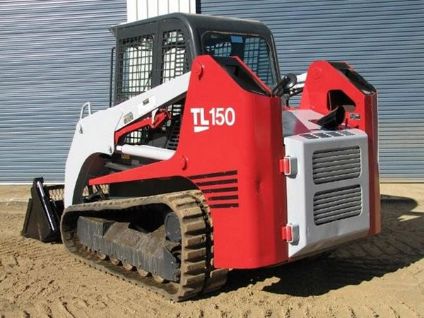 Morooka Rentals Takeuchi TL150 Skid Steer Hire rear view