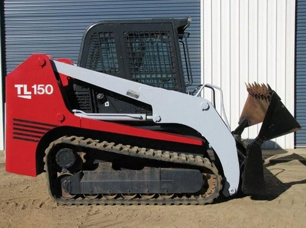 Morooka Rentals Takeuchi TL150 Skid Steer Hire side view
