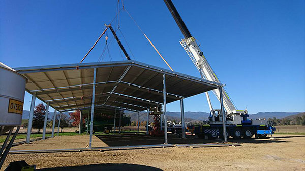 National-Cranes-and-Engineering-roof-complete-install-crane-truck-hire-Kempsey