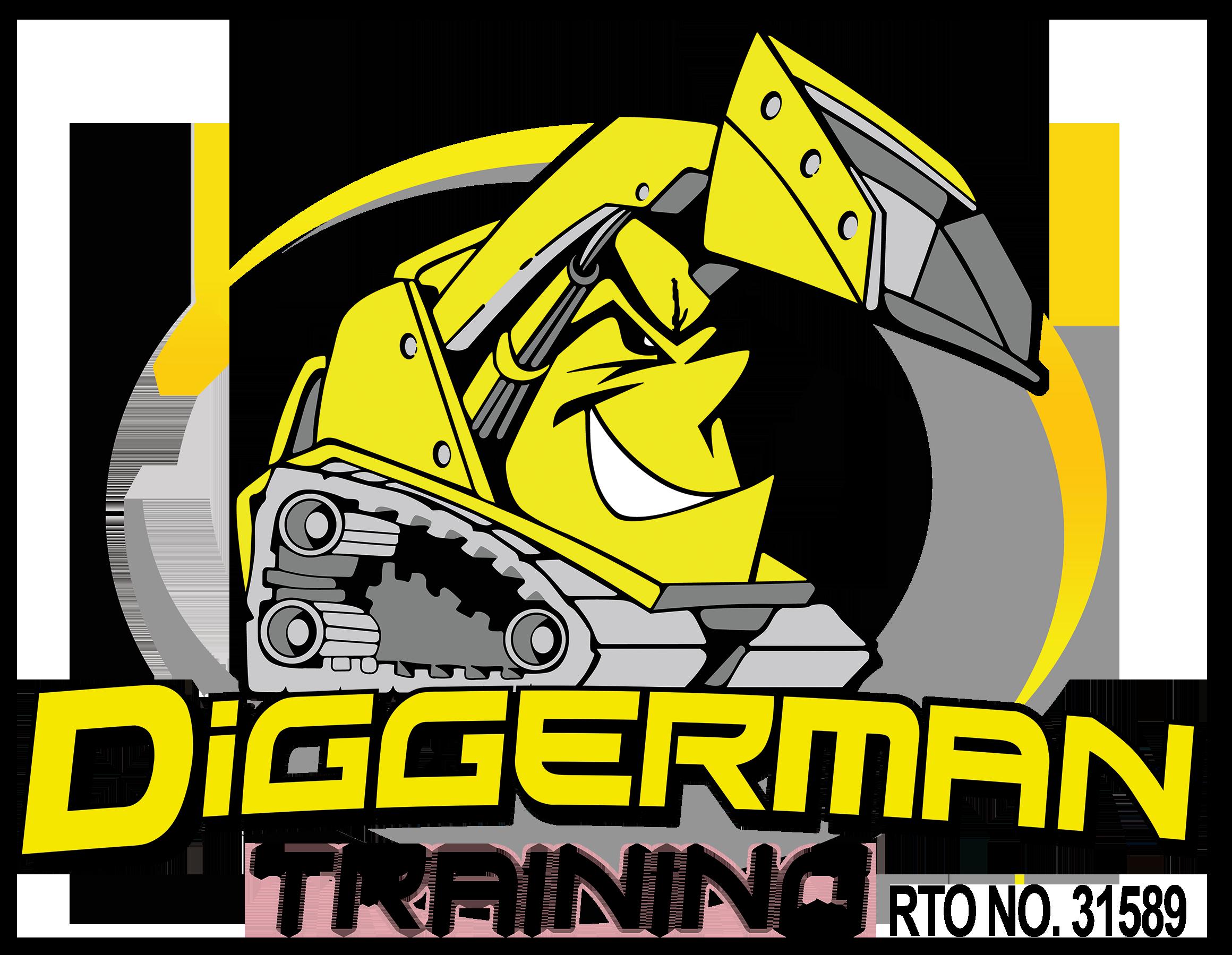 Diggerman Training Logo