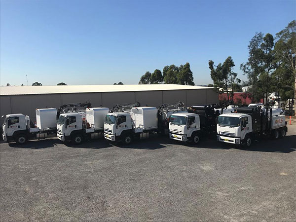 Newcastle-Locating-Services-aerial-trucks-fleet