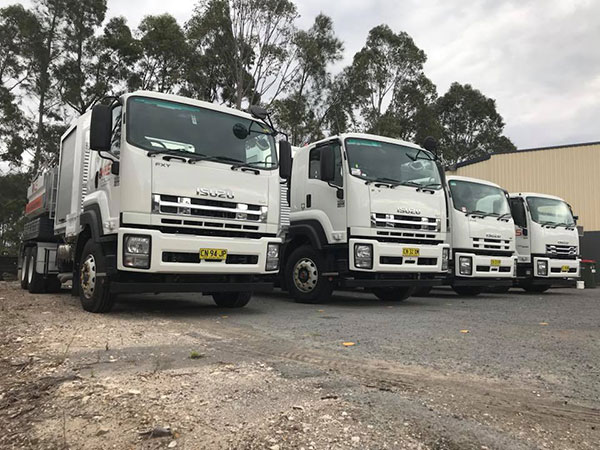 Newcastle-Locating-Services-fleet-trucks