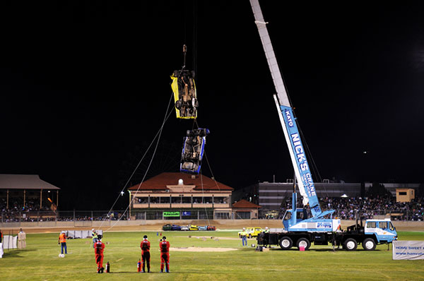 Nicks-Cranes-Services-show-grounds-stunt-Adelaide