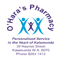O'Hara's Pharmacy Kalamunda Compounding Pharmacy WA
