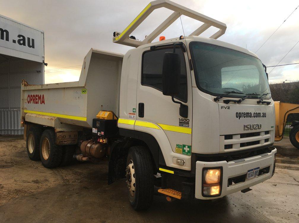 Oprema Tipper truck
