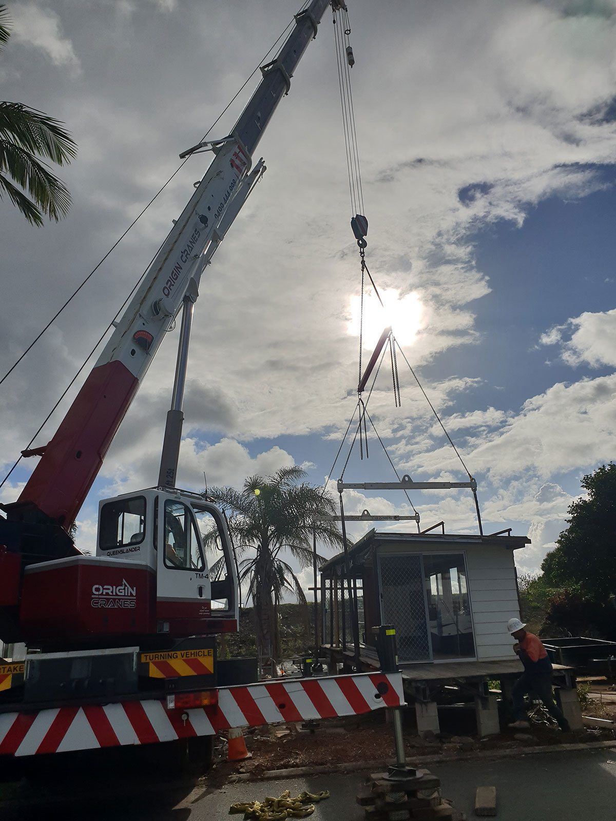 Origin-Cranes-25T-Truck-Mount-Slew-Crane-Sunshine-Coast