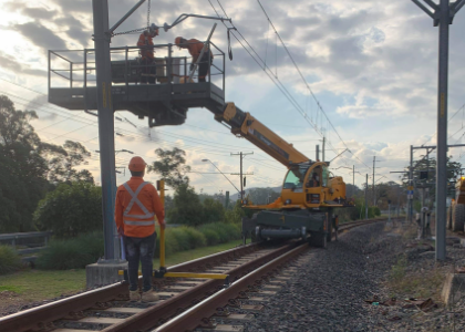 Our Work on Sydney Metro Rouse Hill Trains Facility